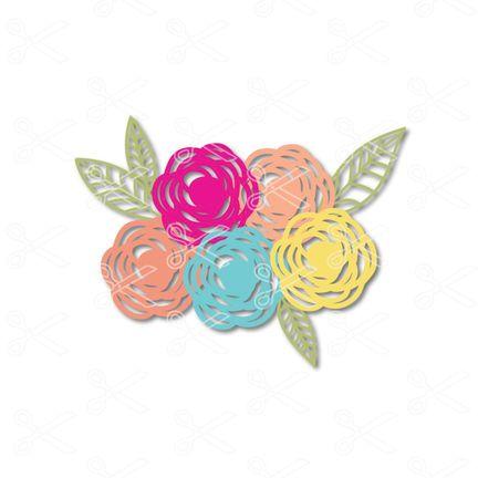 Download Free SVG Flower Cut File - Download SVG