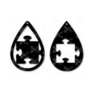 Autism puzzle piece tear drop earrings svg dxf cut file 324x324 - Autism Puzzle Piece TearDrop Earring SVG DXF