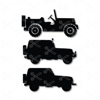 Jeep SVG File