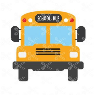 School Bus SVG and DXF, Teacher, Bus driver, Back to school Cut file