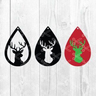 Christmas Reindeer Svg Archives High Quality Premium Design