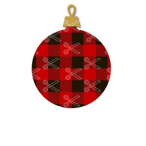 Download Christmas Plaid Bouble SVG and DXF Cut files and use it to your DIY project!