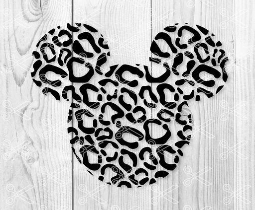 Download Mickey cheetah SVG DXF - High Quality Premium Design