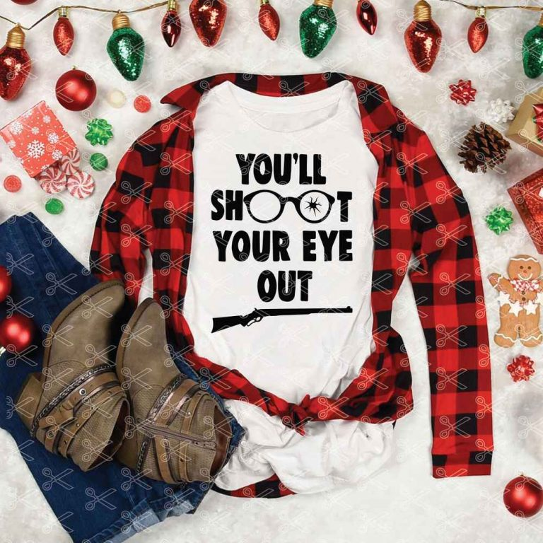 Youll Shoot Your Eye Out SVG Cut File