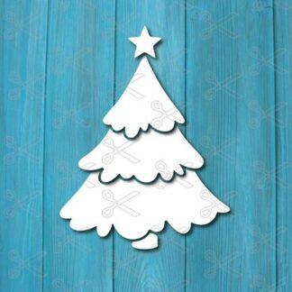 christmas tree dxf svg cut files 324x324 - Christmas tree SVG DXF