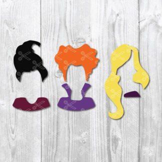 Hocus Pocus Sanderson Sisters SVG 324x324 - Hocus Pocus Sanderson Sisters SVG DXF Cut File