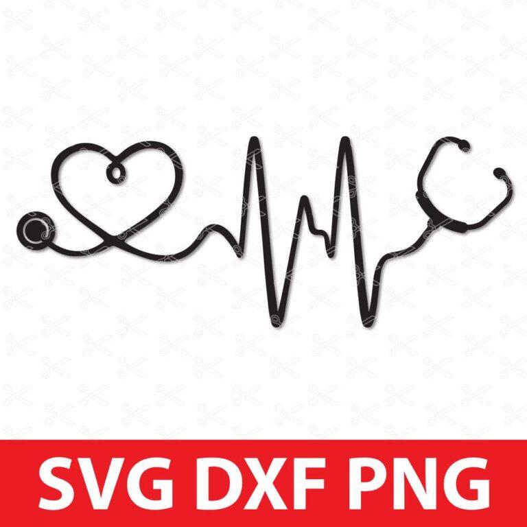 Stethoscope SVG Cut File
