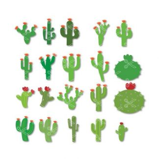 cactus svg cut file