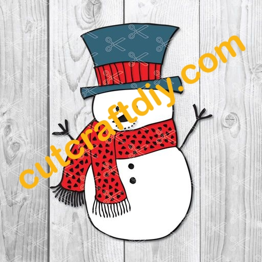 snowman face svg free