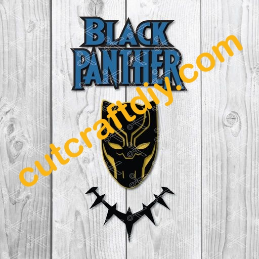 Black Panther Svg Png Dxf Cut Files High Quality Premium Design