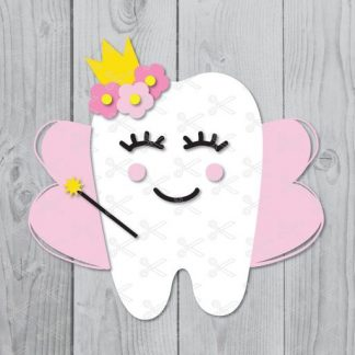 Tooth fairy svg 324x324 - Baby Unicorn SVG DXF PNG Cut Files