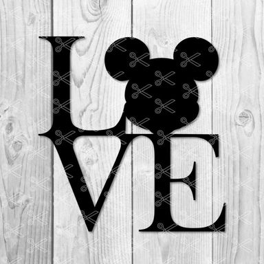 1111+ Love Mickey Mouse Svg File