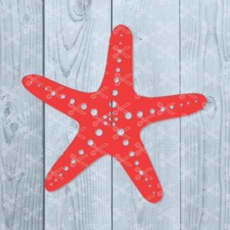 starfish svg 324x324 - Starfish SVG PNG DXF Cut Files