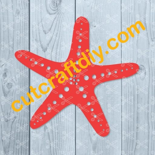 Starfish Svg Png Dxf Cut Files High Quality Premium Design