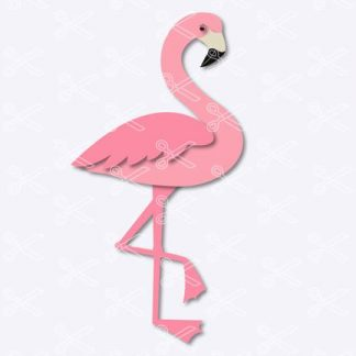 flamingo svg file
