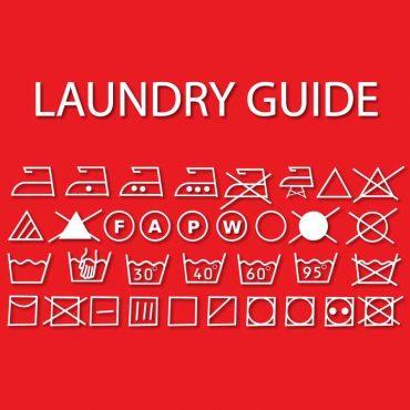 Laundry Room Symbols Sign
