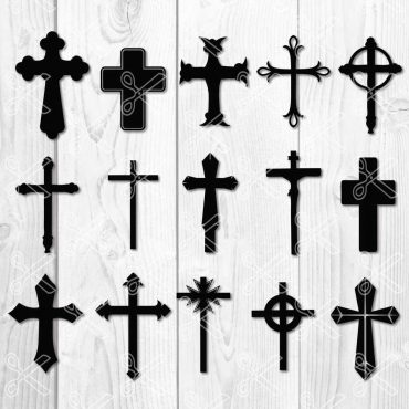 Cross svg file