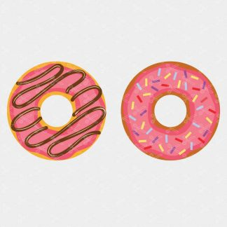 Donut svg cut files