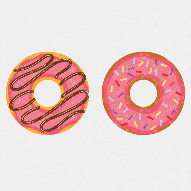Donut svg cut files