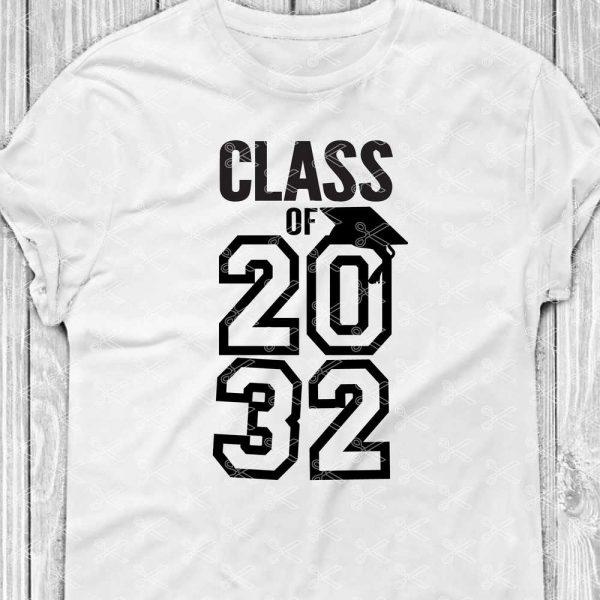 Class Of 2032 SVG