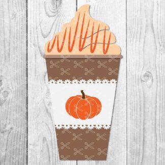 Pumpkin Spice svg 324x324 - Marshmallow Silhouette - Marshmellow SVG