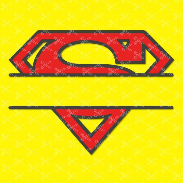 Superman Svg
