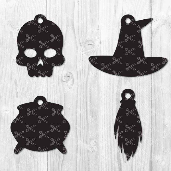 Earring Halloween Cut File