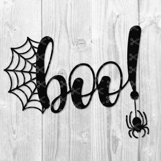Halloween Boo SVG File