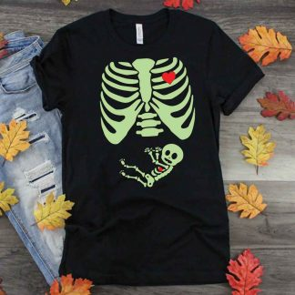 Halloween Baby Skeleton SVG