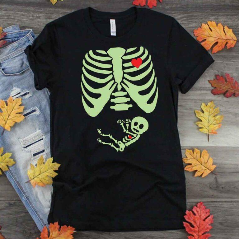 Halloween Baby Skeleton SVG