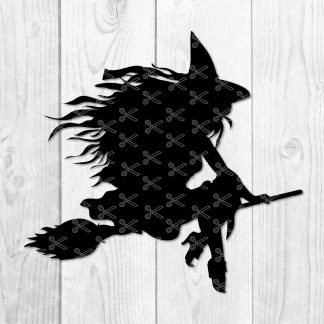 Halloween Witch SVG File