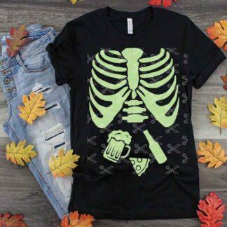 Halloween Pregnancy SVG