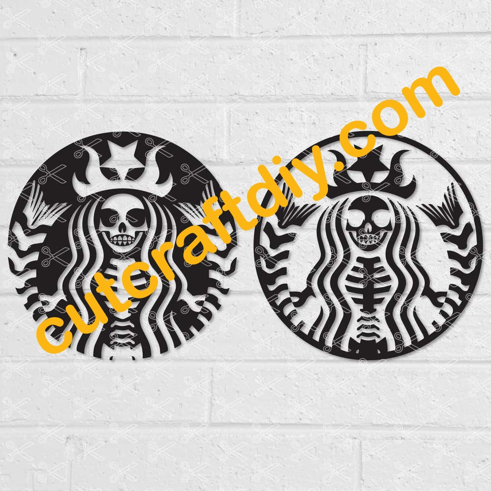 Starbucks Halloween Svg Dxf Png Cut Files High Quality Premium Design