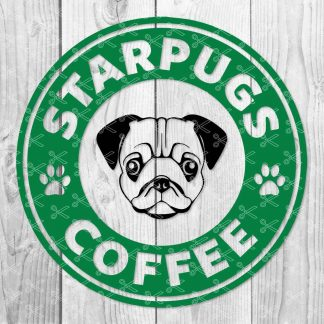 Starpugs Coffee SVG