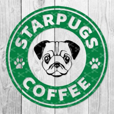Starpugs Coffee SVG