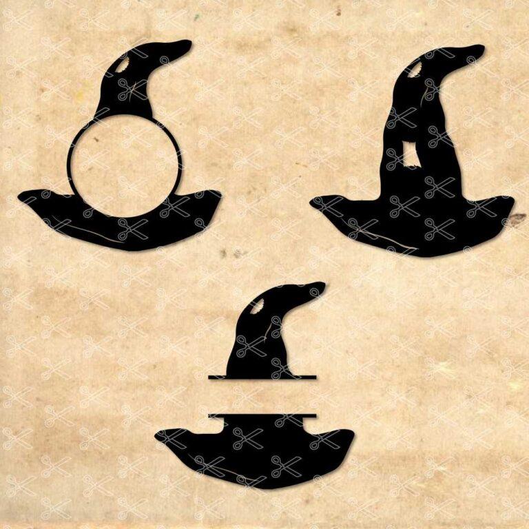 Witch Hat SVG Cut File