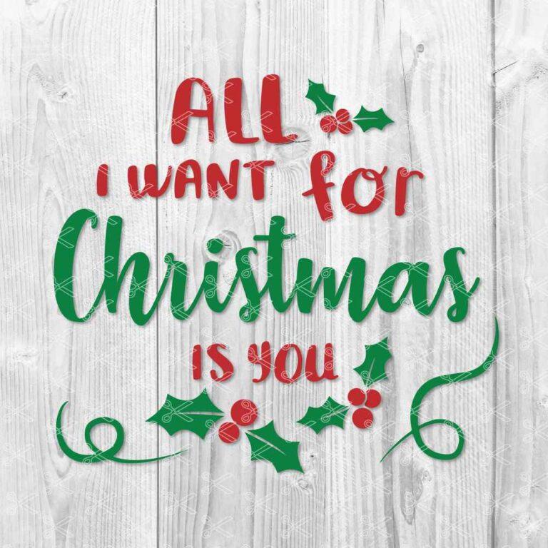 Christmas Sign SVG File
