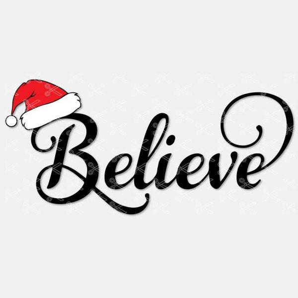 Believe SVG File