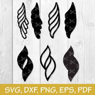 Earrings SVG