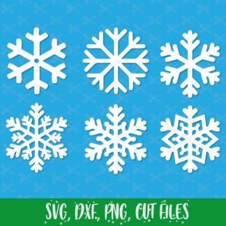 Christmas SnowflakeSVG
