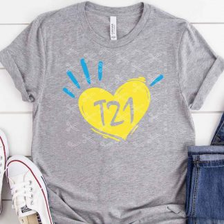 T21 down syndrome svg