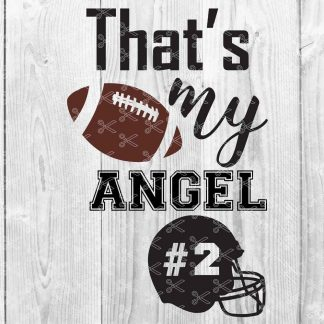 angel 324x324 - Thats My Angel SVG DXF PNG Cut files