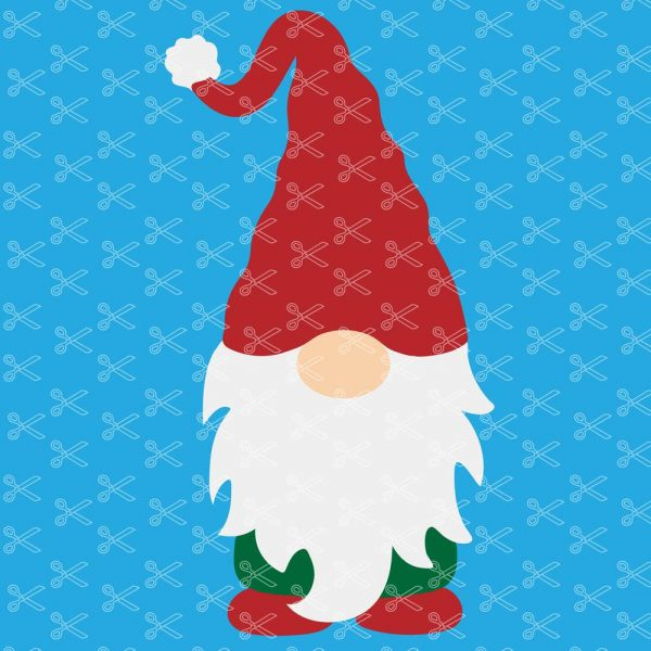 Christmas Gnome SVG Cut File