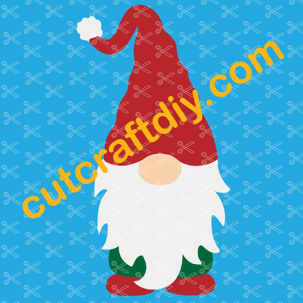 Nordic Gnome Svg Dxf Png Cut Files Elf Clipart