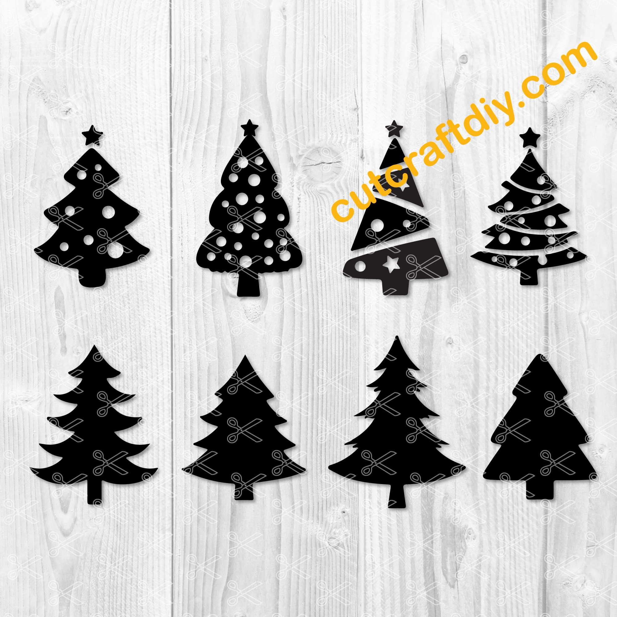 Christmas Tree Svg Dxf Png Merry Christmas Cut Files