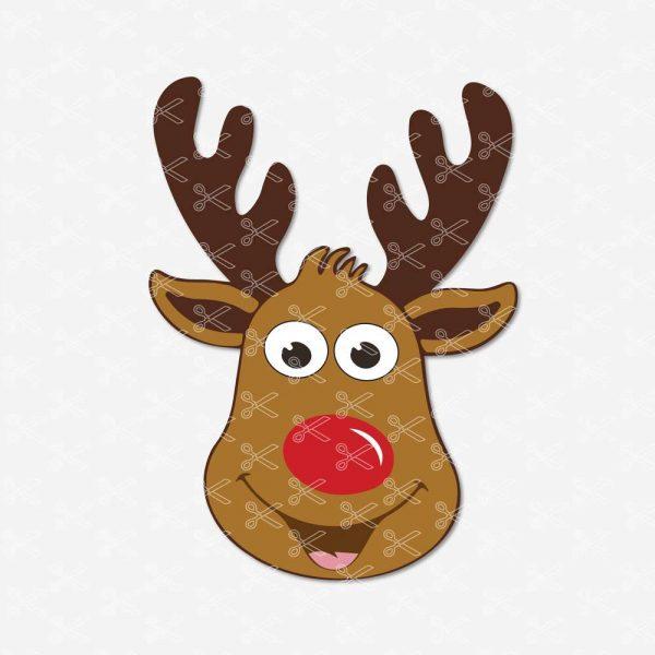 Deer-Face-SVG