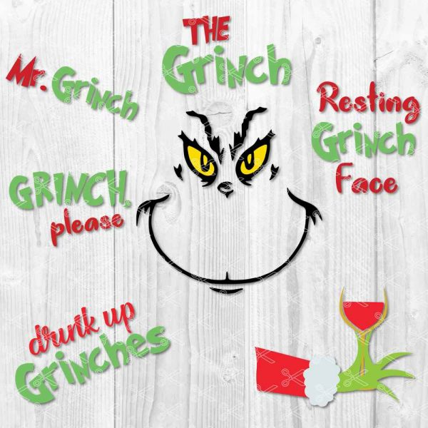 Grinch SVG Bundle
