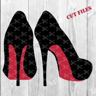 Stiletto Heels SVG