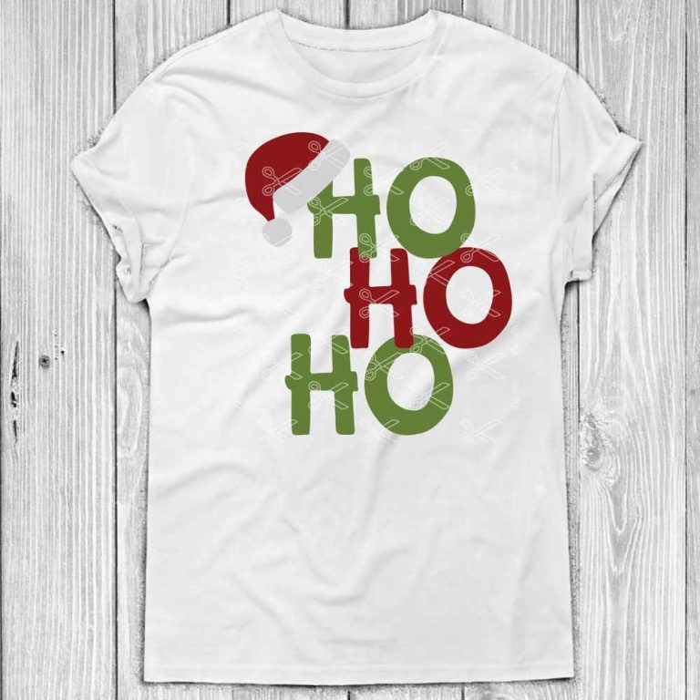 Ho Ho Ho SVG Cutting File 768x768 - Ho Ho Ho SVG PNG DXF Cut Files