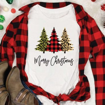 Buffalo Plaid Christmas Tree SVG File